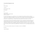 template topic preview image Formal Board Resignation Letter