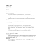 template topic preview image New Graduate Marketing Resume