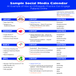 template topic preview image Sample Social Media Calendar