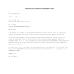 template preview imageTenancy Agreement Termination Letter sample