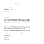 template topic preview image Landlord Lease Termination Notification Letter