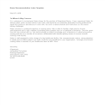 template topic preview image Personal Letter Of Recommendation For Nurse
