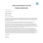 template topic preview image Conditional Job Offer Acceptance Letter