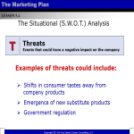 template preview imageMarketing SWOT Powerpoint