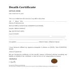 template topic preview image Death Certificate