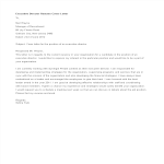 template topic preview image Executive Director Resume Cover Letter
