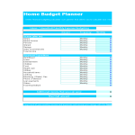 template topic preview image Home Monthly Budget
