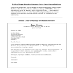 template topic preview image Sample Letter of Apology for Missed Interview