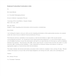 template topic preview image Business Partnership Termination Letter