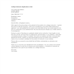 template topic preview image College Instructor Application Letter