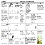 template topic preview image Publisher Calendar Sample