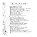 template topic preview image Professional Wedding Checklist