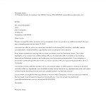 template topic preview image Standard Job Resignation Letter