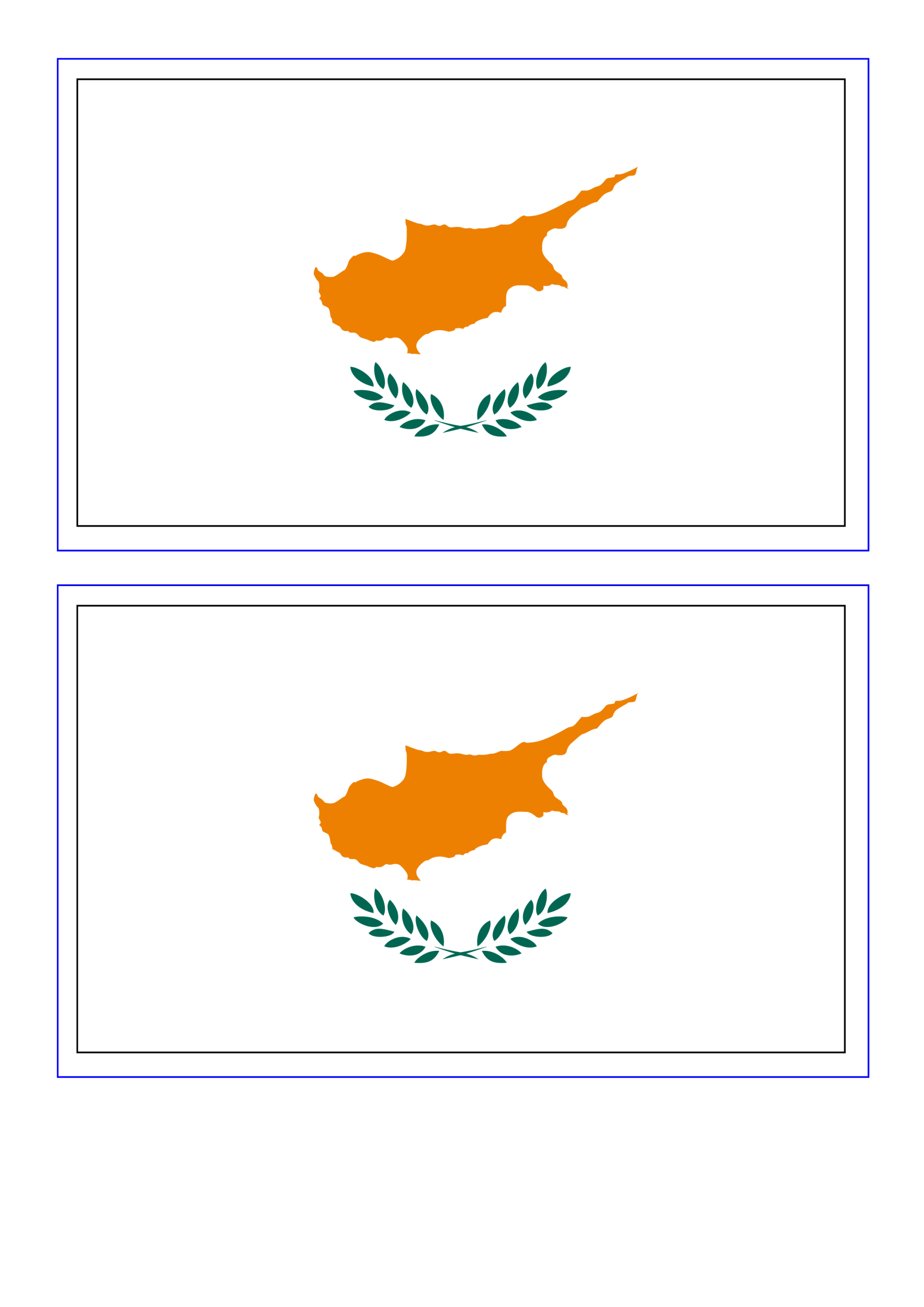 template preview imageCyprus Flag