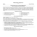 template topic preview image MBA Resume
