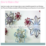 template topic preview image How to Make a Christmas Star