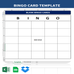 template topic preview image Blank Bingo Cards