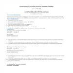 template topic preview image Sample Resume For Kindergarten Teacher Assistant