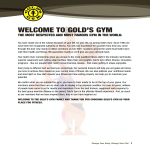 template topic preview image Gym Membership Offer Letter