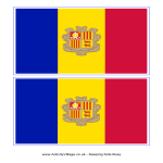 template preview imageAndorra Flag