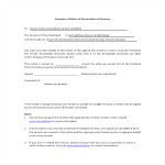 template topic preview image Rental Termination Letter From Tenant