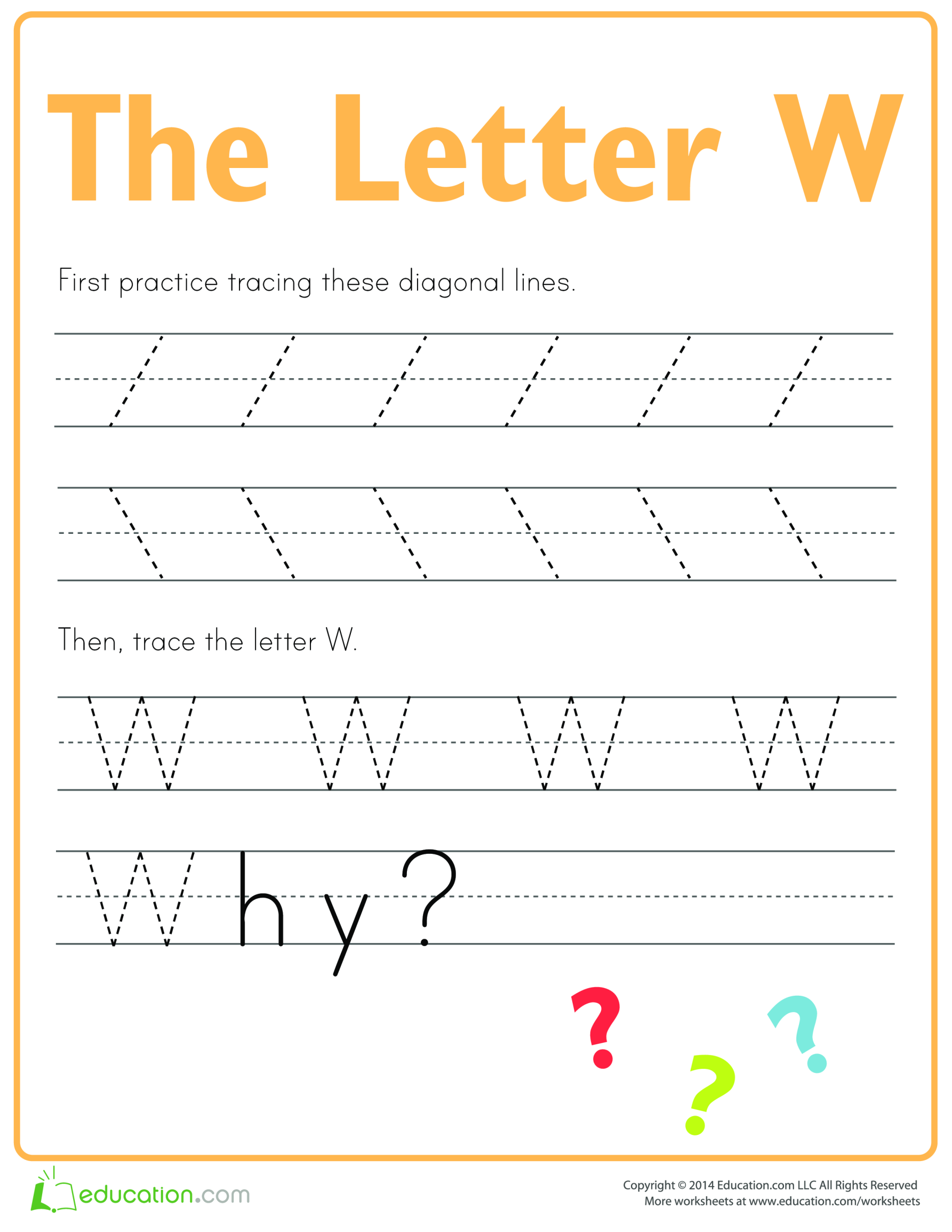 template topic preview image Learn to write letter W