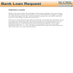 template topic preview image Bank Loan Letter