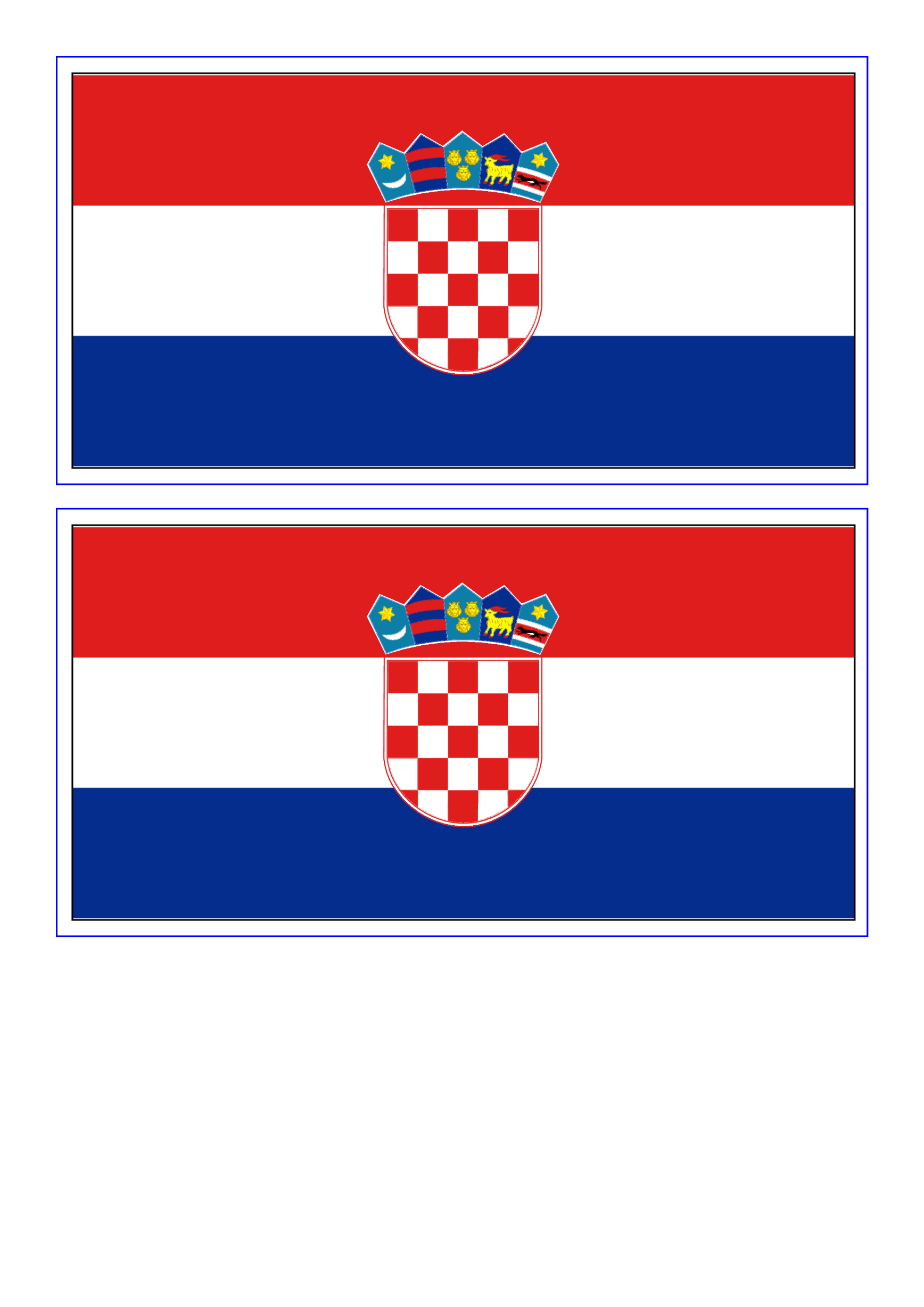 template preview imageCroatia Flag