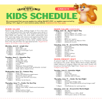 template topic preview image Kids Day and Night Event Schedule
