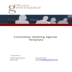 template topic preview image Committee Meeting Agenda
