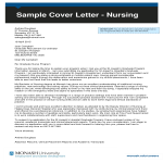 template topic preview image Job Application Letter For Nurse