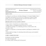 template topic preview image Manager Resume