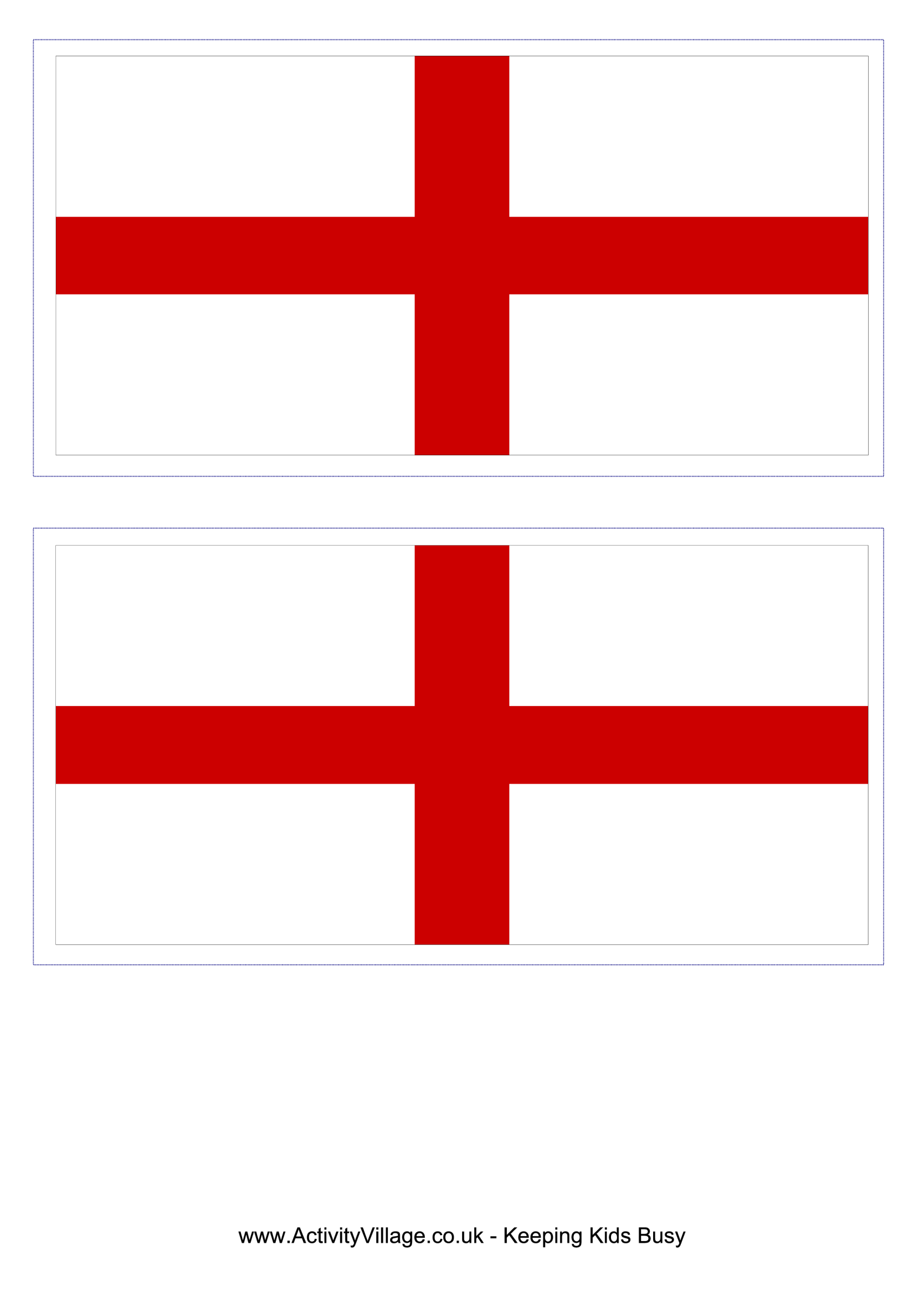 template preview imageEngland Flag