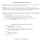 template preview imagePersuasive Essay Research Task