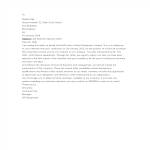 template topic preview image Candidate Rejection letter before Job Interview