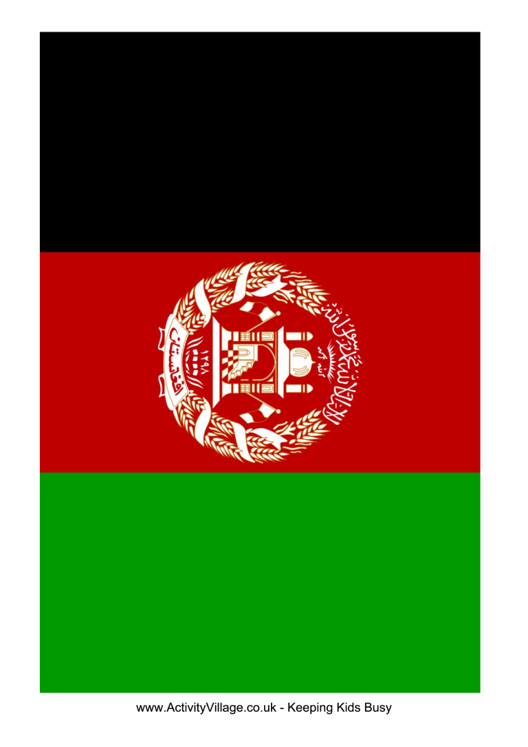 template topic preview image Afghanistan Flag