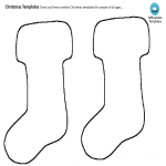 template preview imageChristmas Ornaments Stockings Template