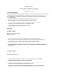 template topic preview image School Computer Teacher Resume