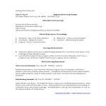 template topic preview image Sample Nursing Graduate Resume