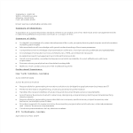 template topic preview image Junior Business Analyst Sample Resume