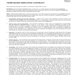 image Employment Contract Template