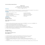 template topic preview image Private Banking Analyst Resume
