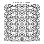 template topic preview image Geometric Lines Coloring Page