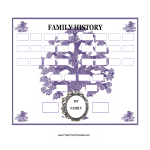 template preview imagePopular Family Tree