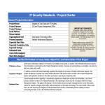 template topic preview image IT Security Compliance Project Charter