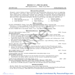 template topic preview image Microsoft Word - Internship Resume 2 - Before