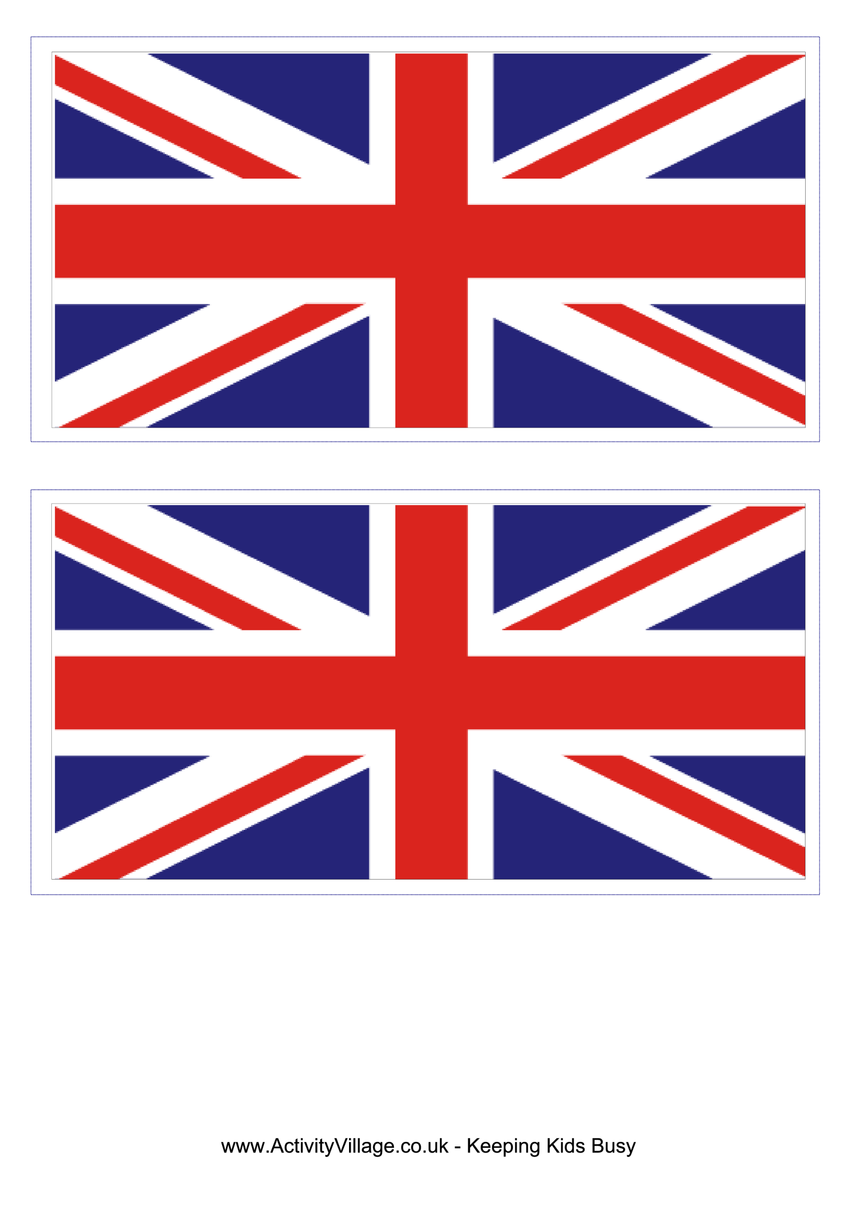 template preview imageUnited Kingdom Flag