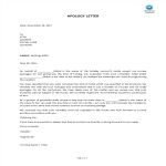 template topic preview image Business Apology Letter template