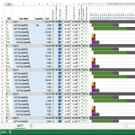 image Project Gantt Chart Excel Template