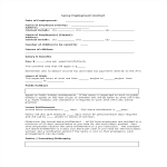 template topic preview image Nanny Employment Contract